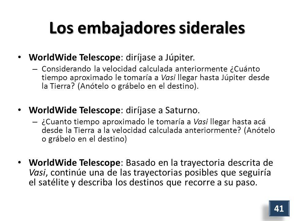 Los embajadores siderales WorldWide Telescope: diríjase a Júpiter.