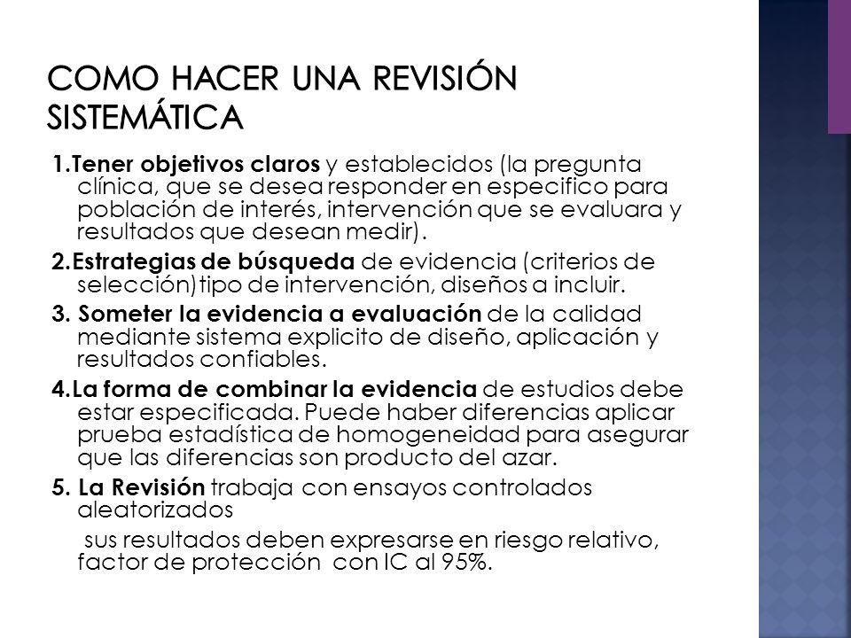 El meta-análisis como técnica de revisión de literatura científica ha incrementado exponencialmente la investigación y avance en el conocimiento para la innovación en el cuidado.