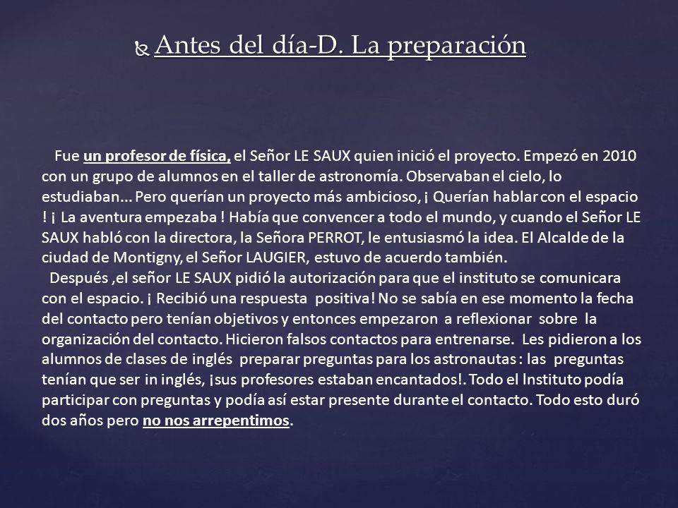 Antes del día-D. La preparación Antes del día-D.
