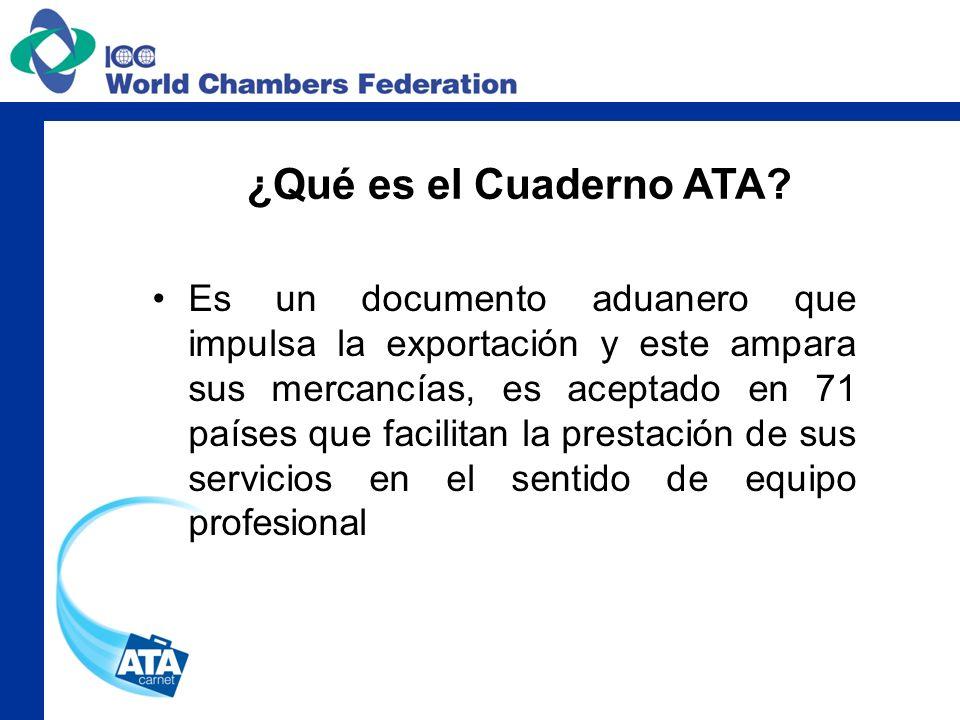Es un documento aduanero que impulsa la exportación y este ampara sus mercancías, es aceptado en 71 países que facilitan la prestación de sus servicio
