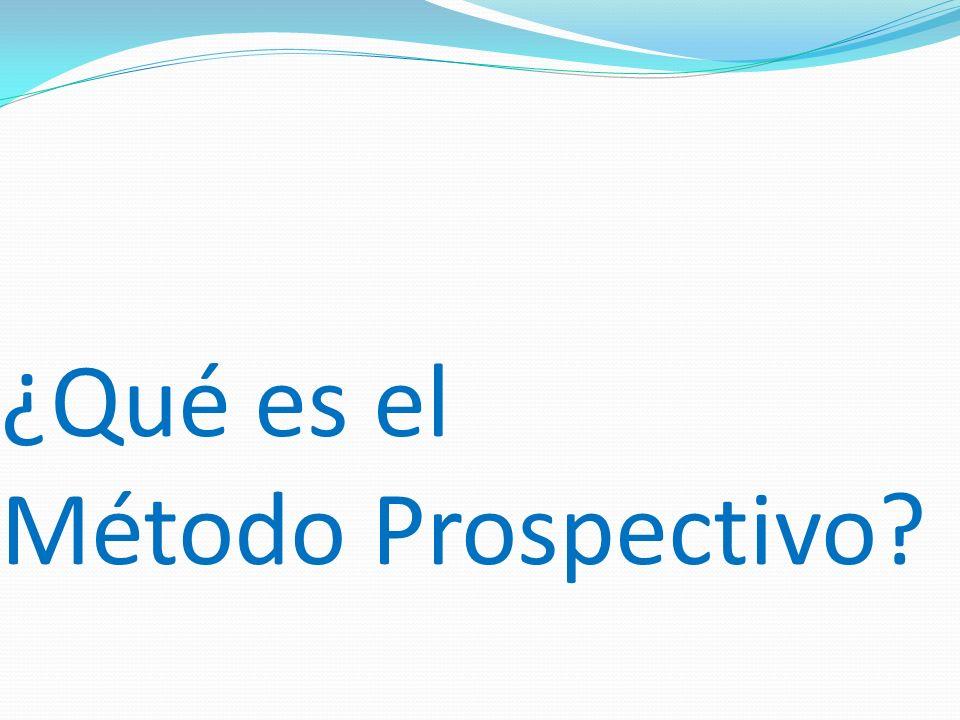 ¿Qué es el Método Prospectivo?