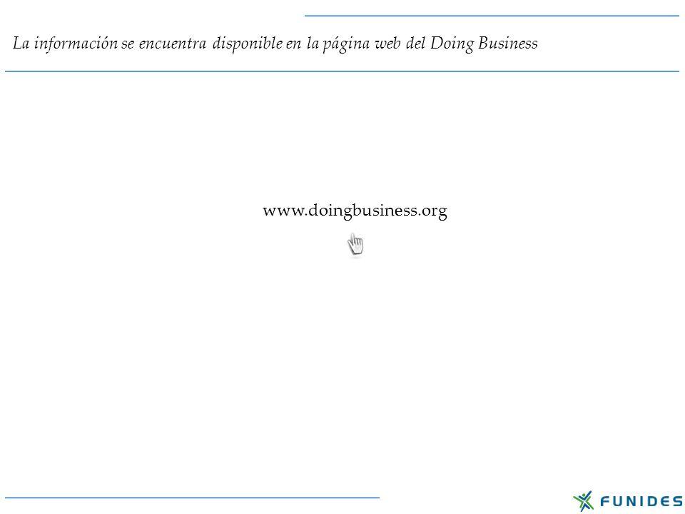 Una vez que ingresamos a la página del Doing Business, en la opción Explore Economy Data, seleccionamos el tema Trading Across Borders.