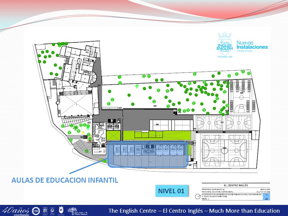 The English Centre – El Centro Inglés – Much More than Education NIVEL 01 AULAS DE EDUCACION INFANTIL