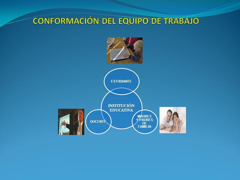 INSTITUCIÓN EDUCATIVA ESTUDIANTE MADRES Y PADRES DE FAMILIA DOCENTE