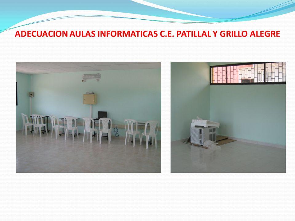 INFORME DE GESTION AÑO 2008.Construcción de un kiosco en el Centro Educativo Corneta.