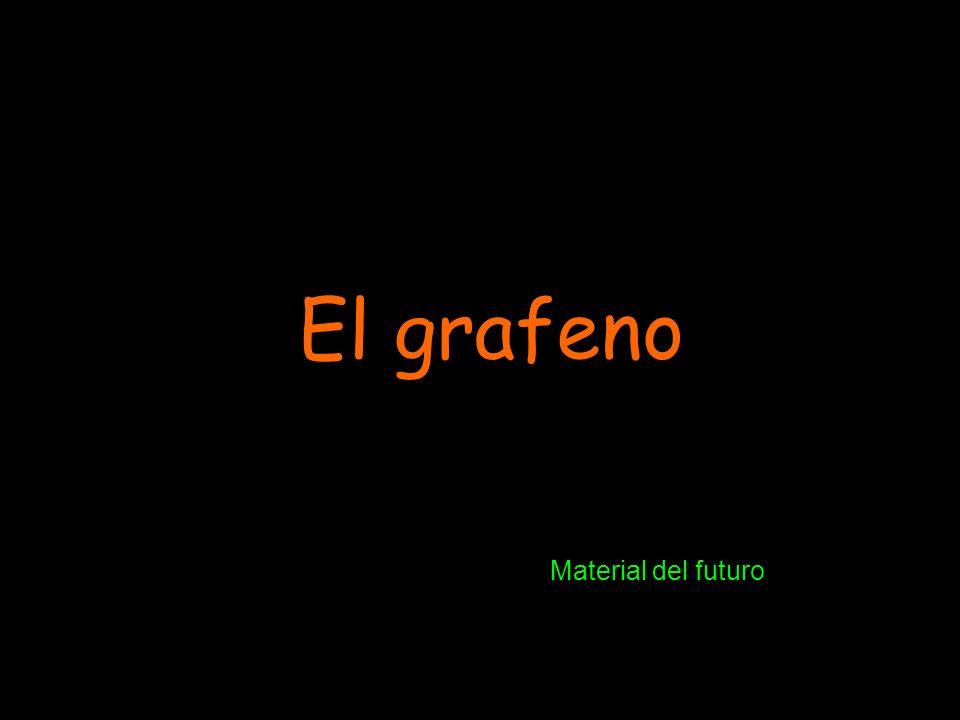 ¿Por qué se llama grafeno?: Su estructura es similar a la del grafito, pero en éste, son tres las capas; en el grafeno, hay una sola, con distintas propiedades, entonces: grafito + eno = grafeno.