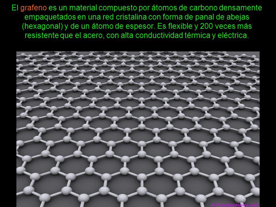 La posibilidad de combinarlo con otras sustancias químicas le otorgan un gran potencial de desarrollo.