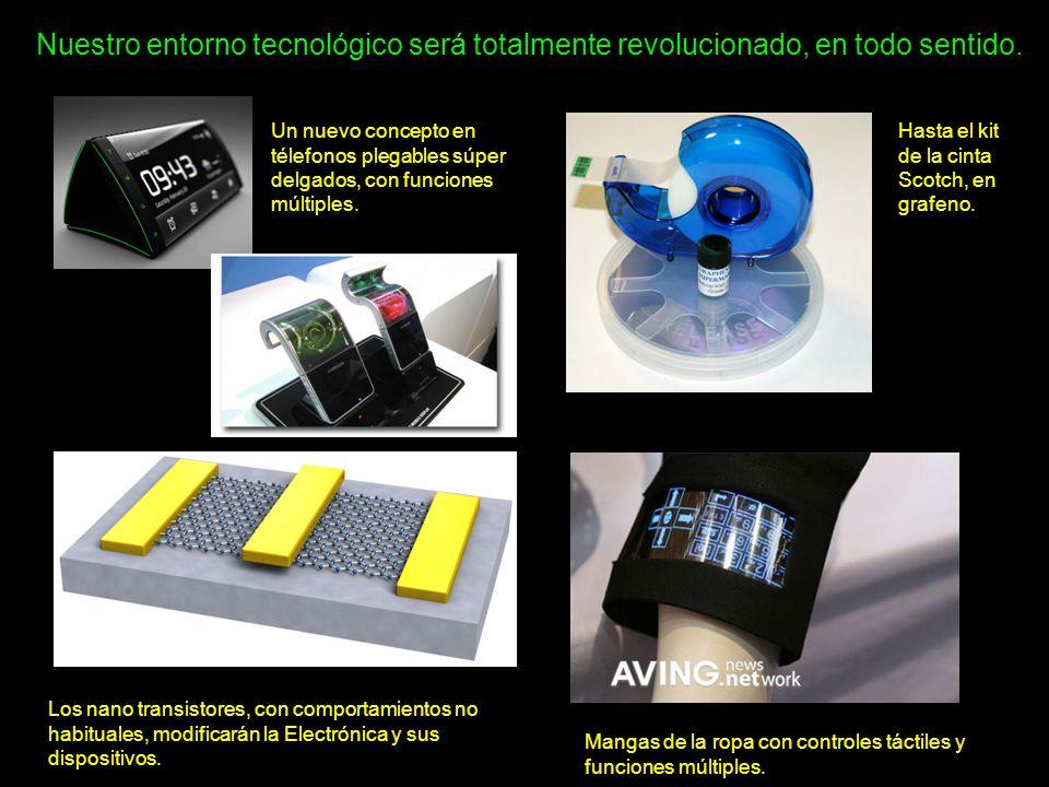 Nuestro entorno tecnológico será totalmente revolucionado, en todo sentido. Un nuevo concepto en télefonos plegables súper delgados, con funciones múl