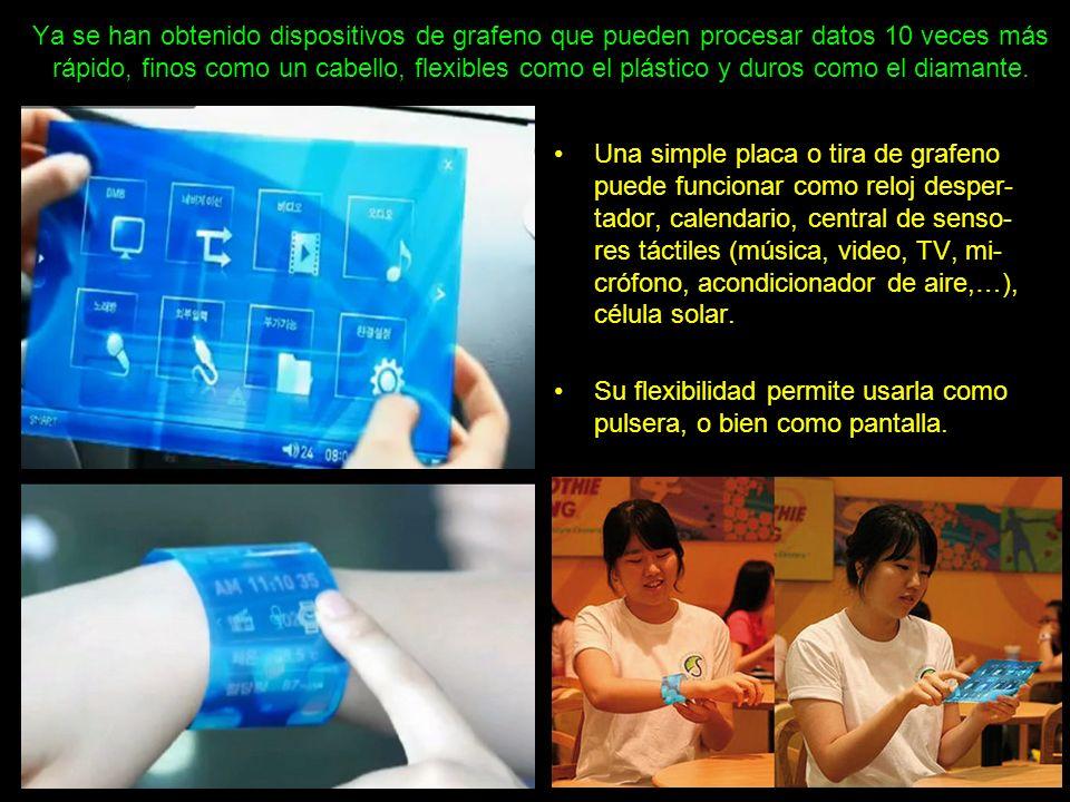 Mega pantallas, para que la emoción, o el susto, sean más reales. A veces dará miedo poner el dedo…