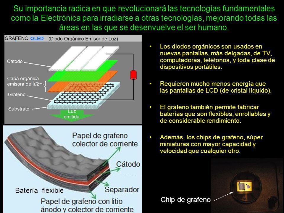 Hay distintas técnicas para fabricar estas pantallas, cuyas características principales son la delgadez, la flexibilidad y la resistencia.