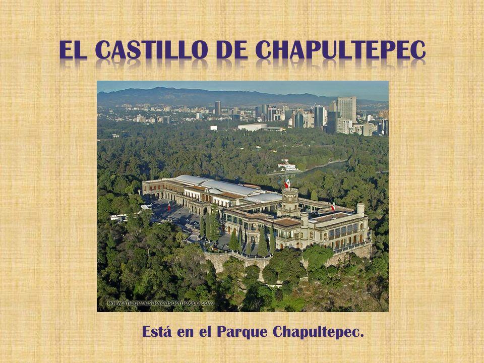Está en el Parque Chapultepec.