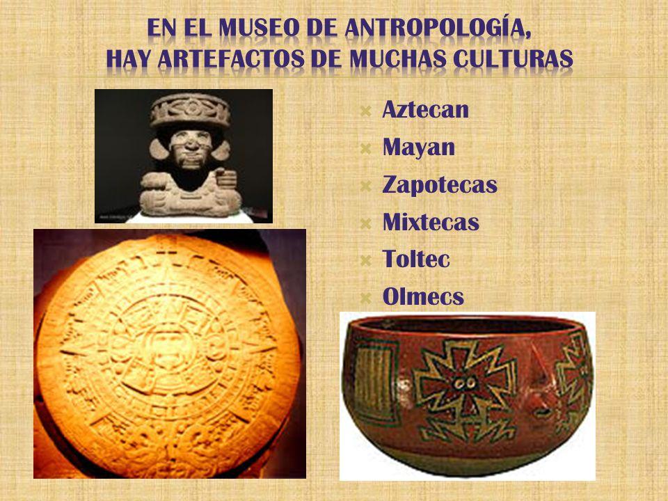 Aztecan Mayan Zapotecas Mixtecas Toltec Olmecs