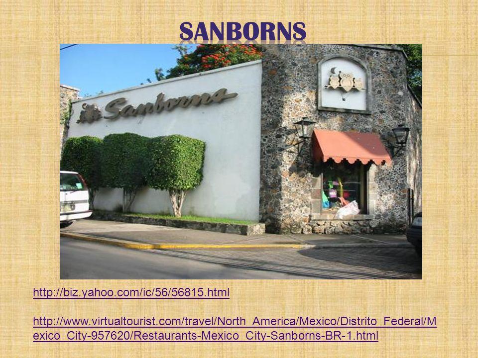 http://biz.yahoo.com/ic/56/56815.html http://www.virtualtourist.com/travel/North_America/Mexico/Distrito_Federal/M exico_City-957620/Restaurants-Mexic