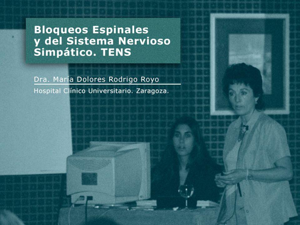 BLOQUEO EPIDURAL - N.RAQUÍDEOS MIXTOS. - G. ESPINAL POSTERIOR.