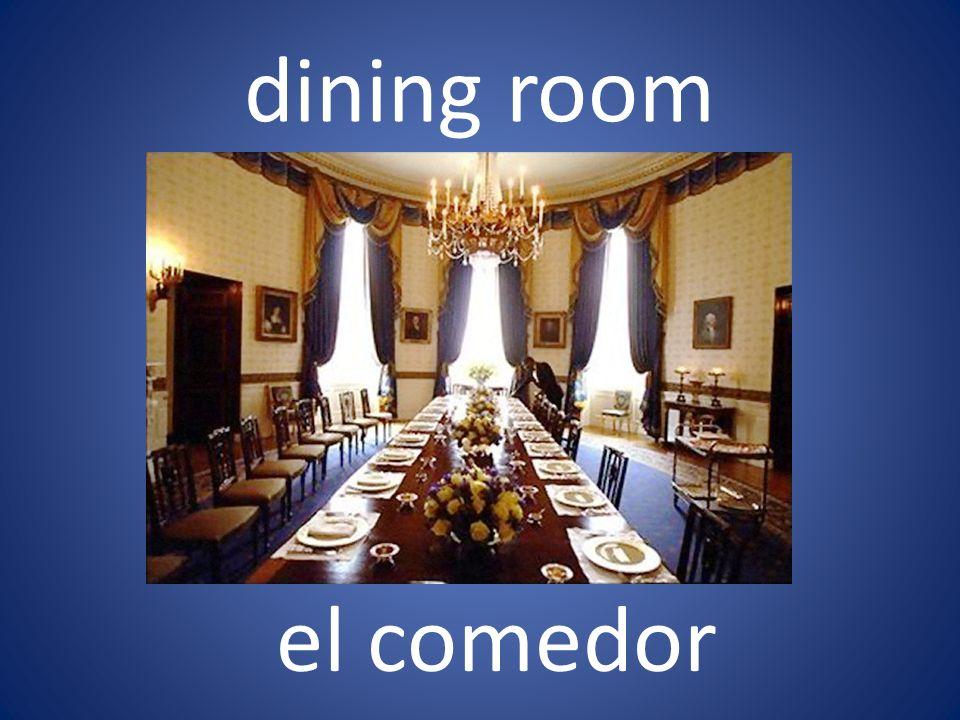 dining room el comedor