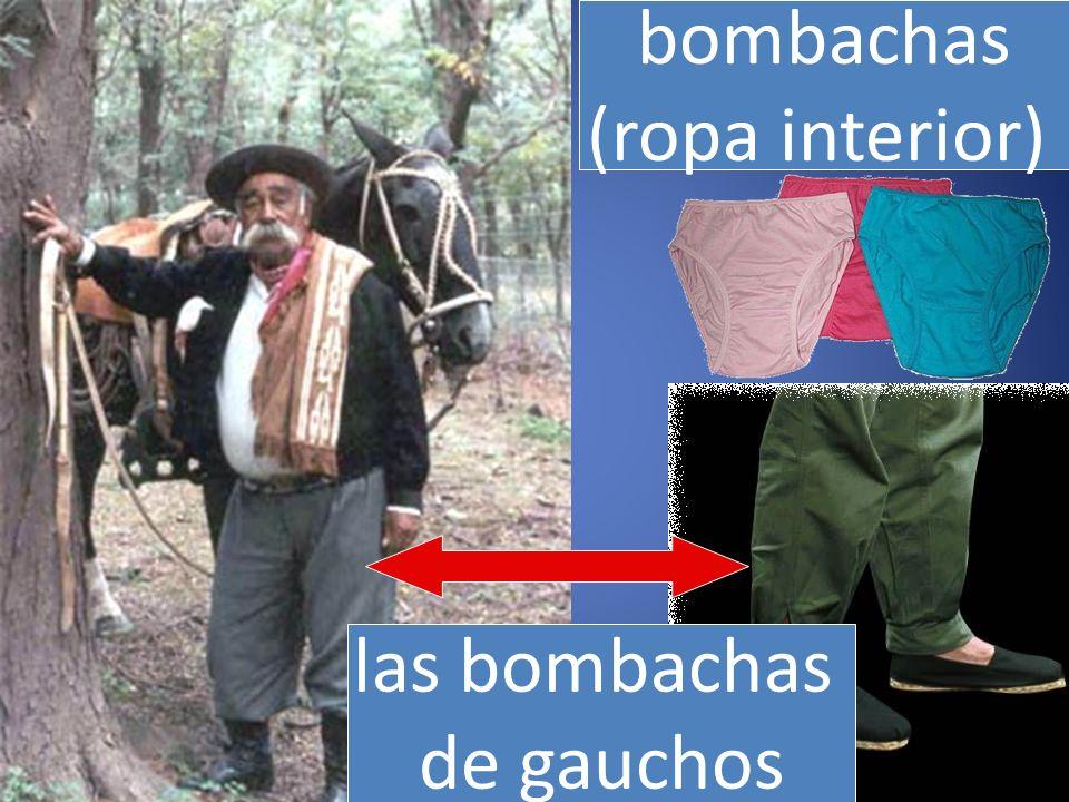 las bombachas de gauchos bombachas (ropa interior)