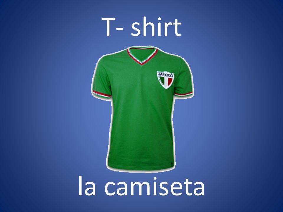 T- shirt la camiseta