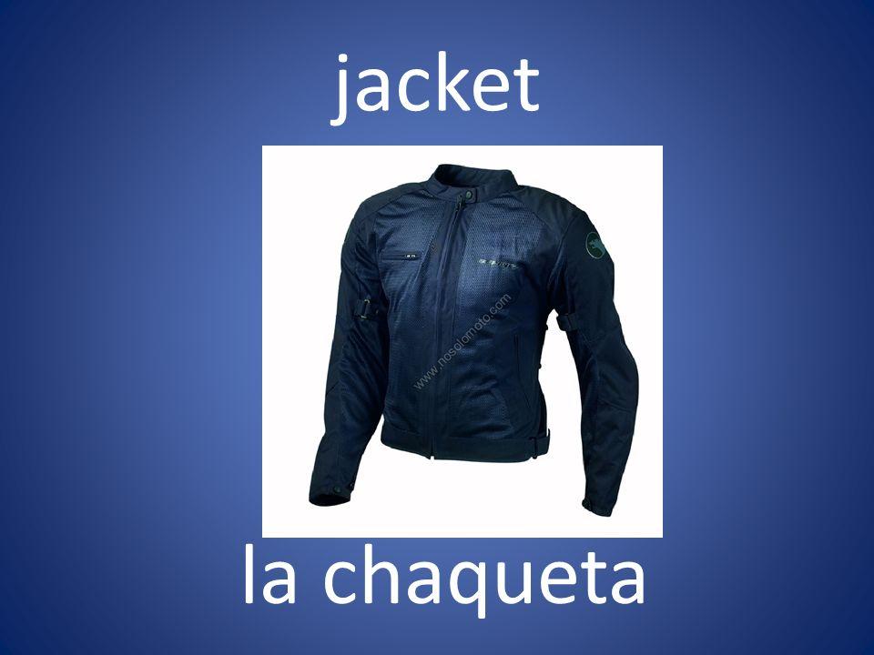 jacket la chaqueta