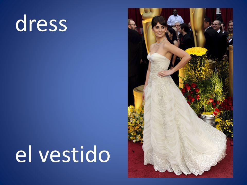 dress el vestido