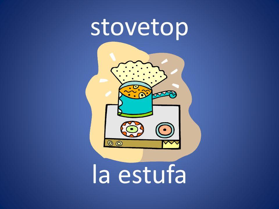 stovetop la estufa