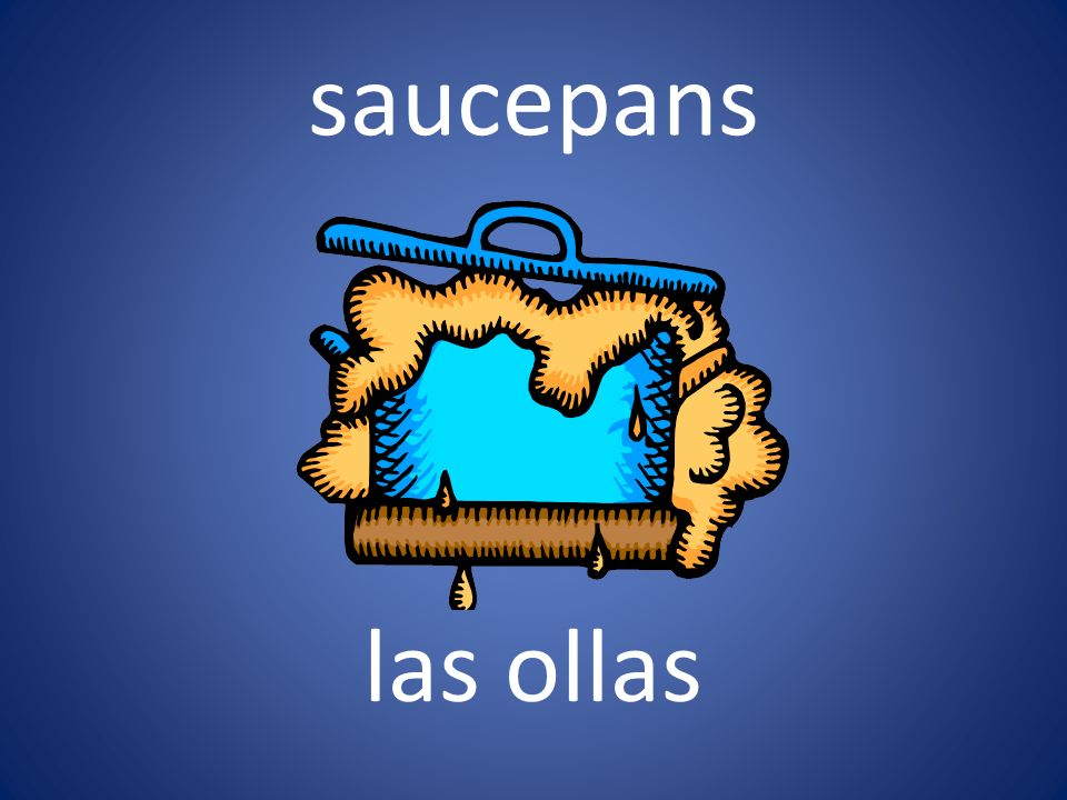 saucepans las ollas