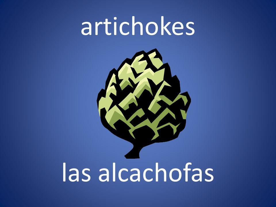 artichokes las alcachofas