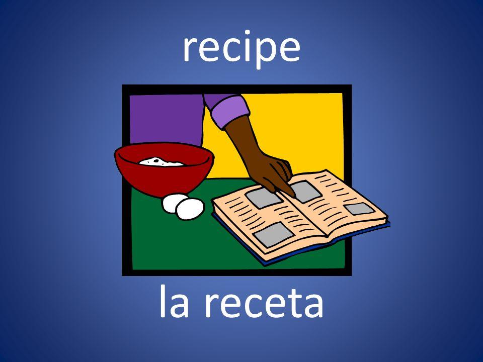 recipe la receta