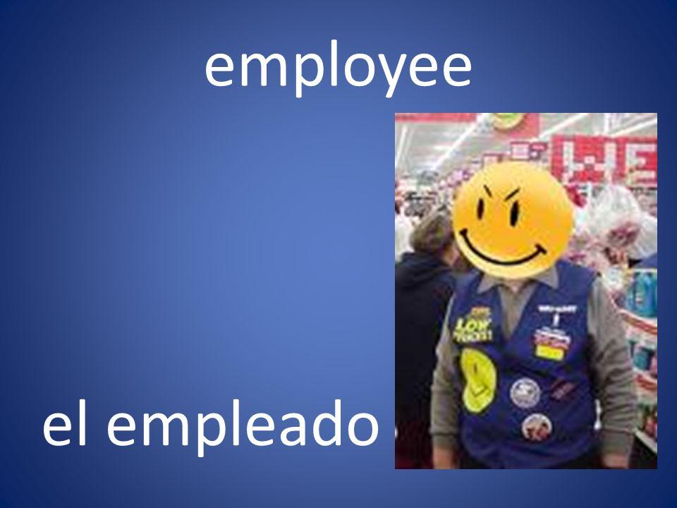employee el empleado