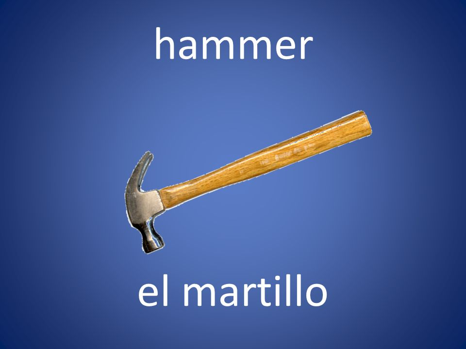 hammer el martillo
