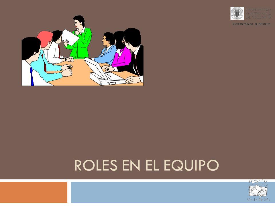 ROLES EN EL EQUIPO