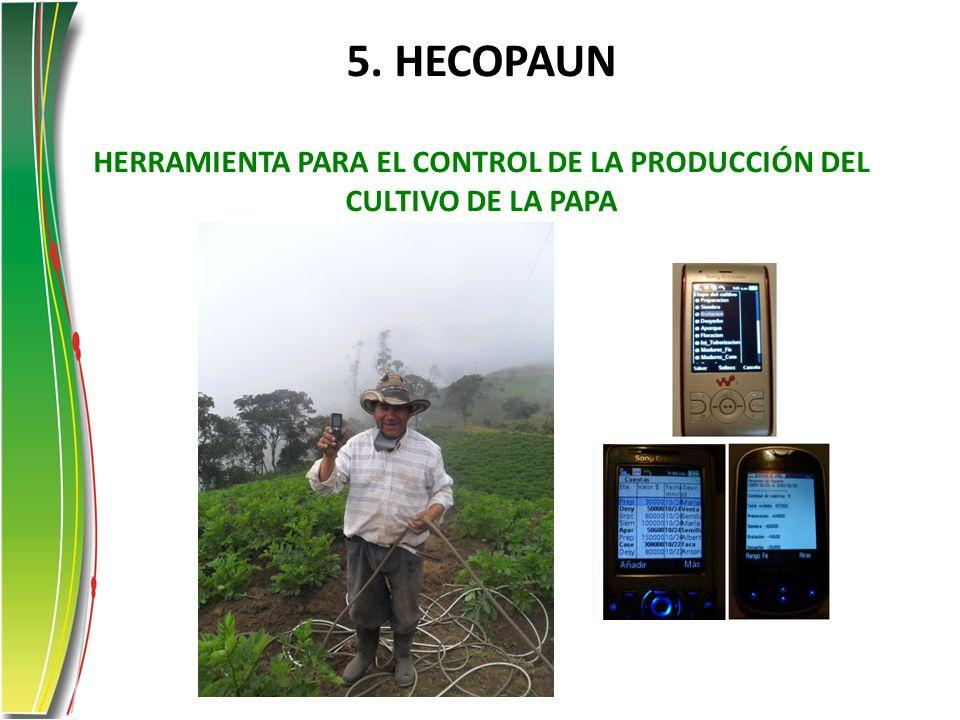 5. HECOPAUN HERRAMIENTA PARA EL CONTROL DE LA PRODUCCIÓN DEL CULTIVO DE LA PAPA