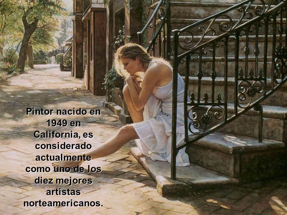 Steve Hanks, San Diego, (California) 1949 El arte proviene de un profundo sentido de dirección interior.