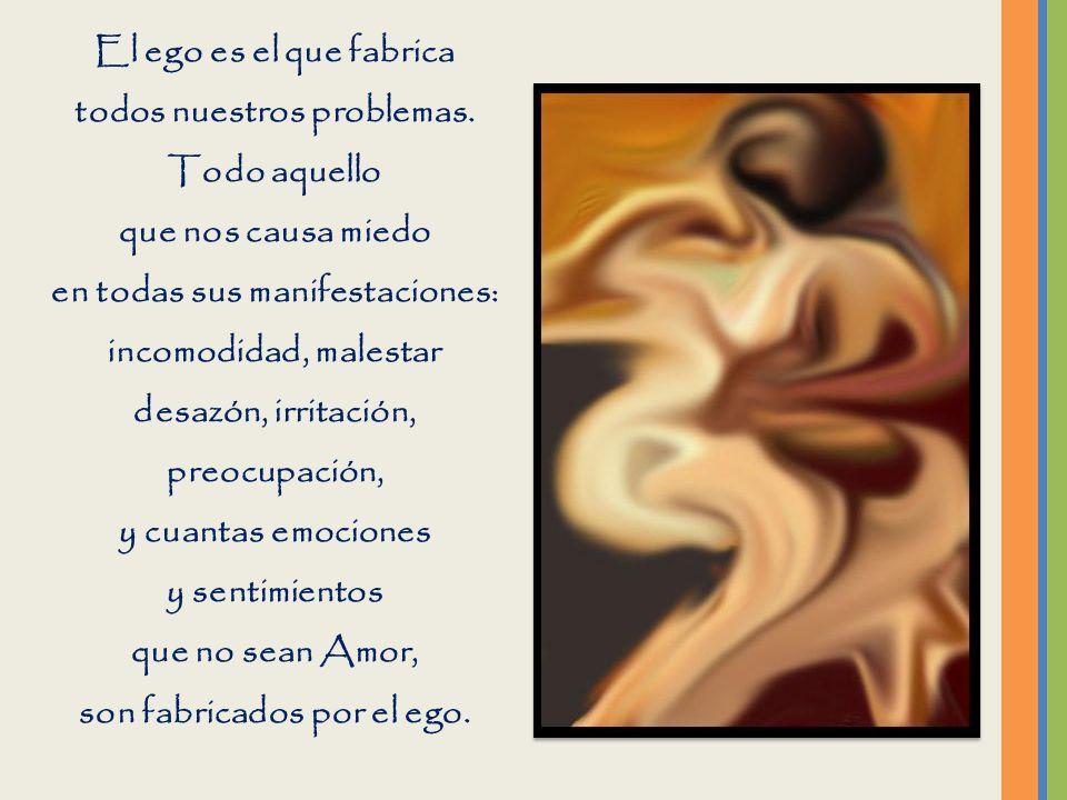 El ego es un falso Yo con el que usualmente el individuo se identifica y por el que se siente separado. El ego, es solo una creencia. De ninguna maner