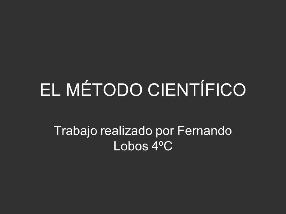 El método científico es: El conjunto de procesos que el hombre debe emplear en la investigación y demostración de la verdad.