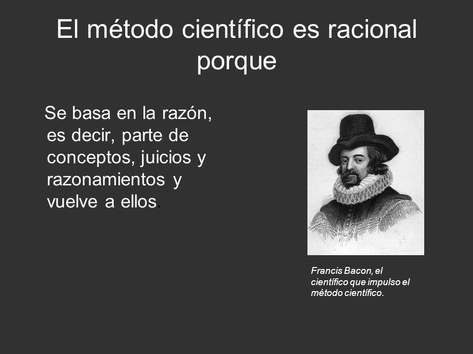 El método científico es analítico porque descompone todo lo que trata con sus elementos e intenta descubrir los elementos que componen cada totalidad y las interrelaciones que explican su integración