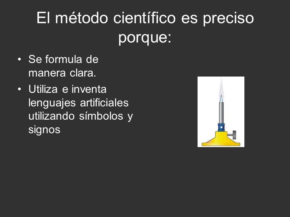 El método científico es verificable porque la ciencia fáctica es empírica en el sentido de que la comprobación de sus hipótesis involucra la experiencia; pero no es necesariamente experimental y, por eso, no es agotada por las ciencias de laboratorio.