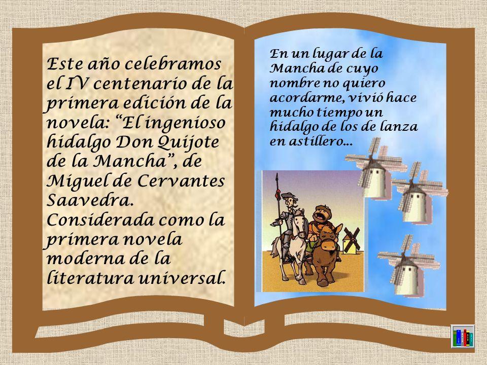 DÍA MUNDIAL DEL LIBRO 23 DE ABRIL El origen de esta celebración se debe a que el 23 de abril se conmemora el fallecimiento de dos grandes escritores: