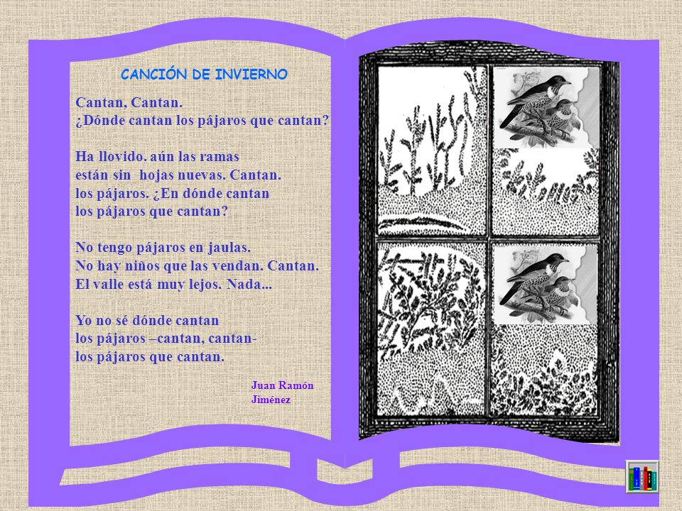 ESCUELA DE LAS FLORES En medio del prado hay una escuela adonde van las flores y las abejas, amapolas y lirios, violetas pequeñas, campanillas azules,