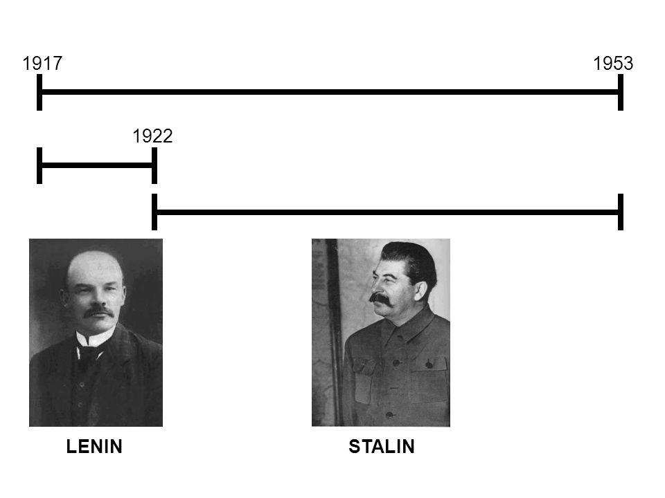 19171953 1922 LENIN STALIN