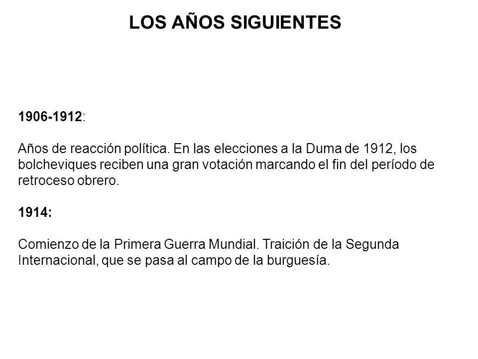 ¿QUÉ PASÓ EN 1917.