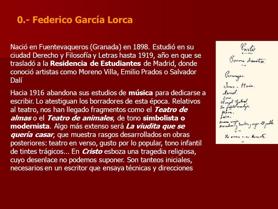 Nació en Fuentevaqueros (Granada) en 1898. Estudió en su ciudad Derecho y Filosofía y Letras hasta 1919, año en que se trasladó a la Residencia de Est