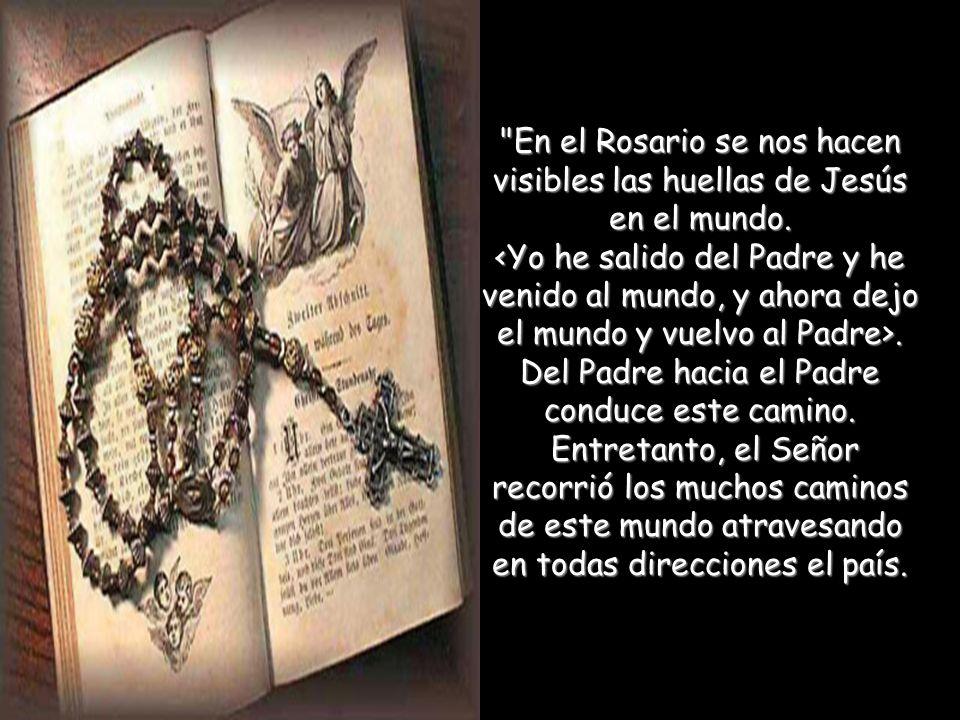 El Rosario es una parte y forma de oración, bellísima acomodada a nuestros tiempos, fácil de practicar y muy fructuosa. León XIII. El Rosario es una p