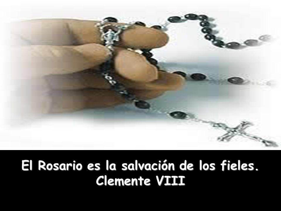 Con el Rosario, los enfermos recobrarán la salud o no morirán sin los sacramentos. San Francisco Javier Con el Rosario, los enfermos recobrarán la sal
