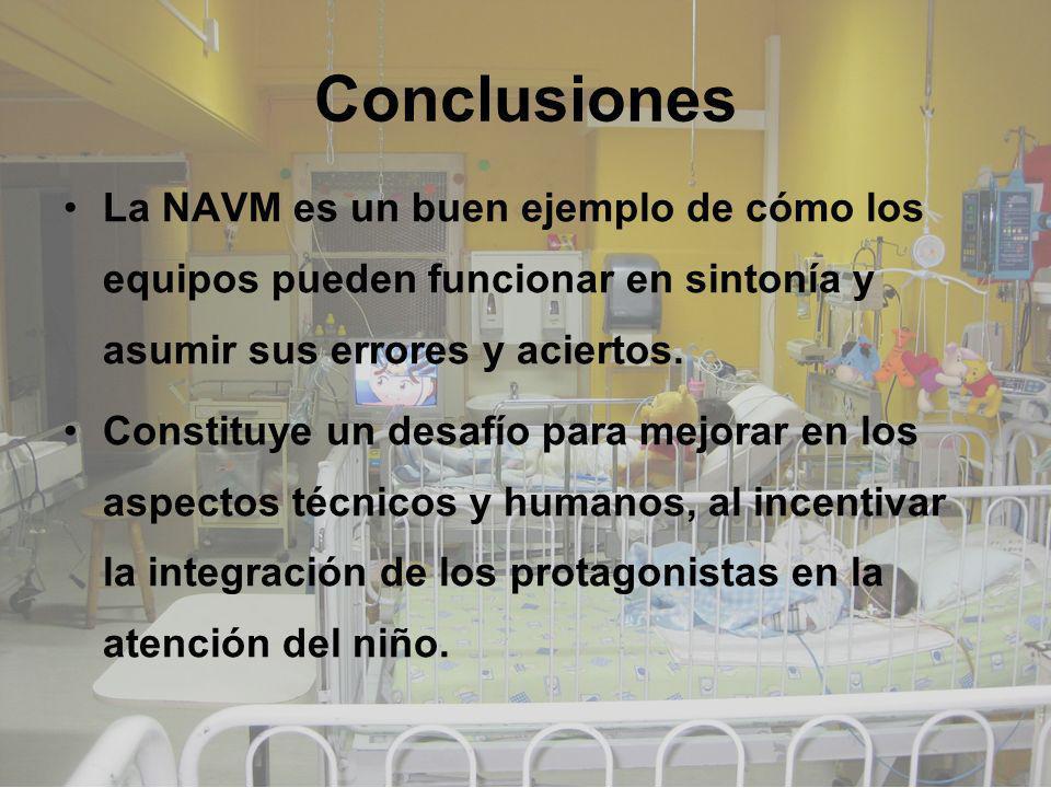 La NAVM es un buen ejemplo de cómo los equipos pueden funcionar en sintonía y asumir sus errores y aciertos. Constituye un desafío para mejorar en los