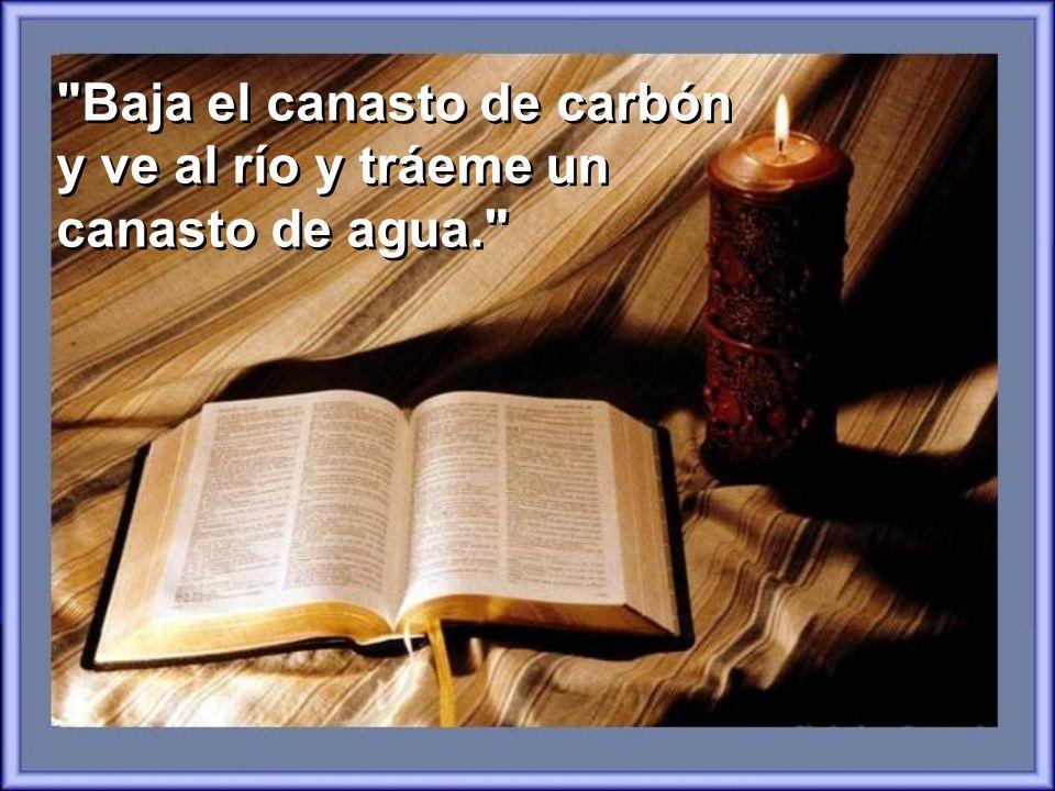 ¿Qué hay de bueno en leer la Biblia? Preguntó el Nieto El Abuelo calladamente dejó de echar carbón en la estufa y dijo: