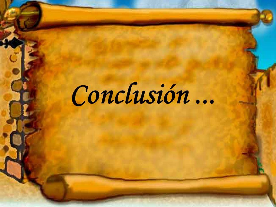 Conclusión...