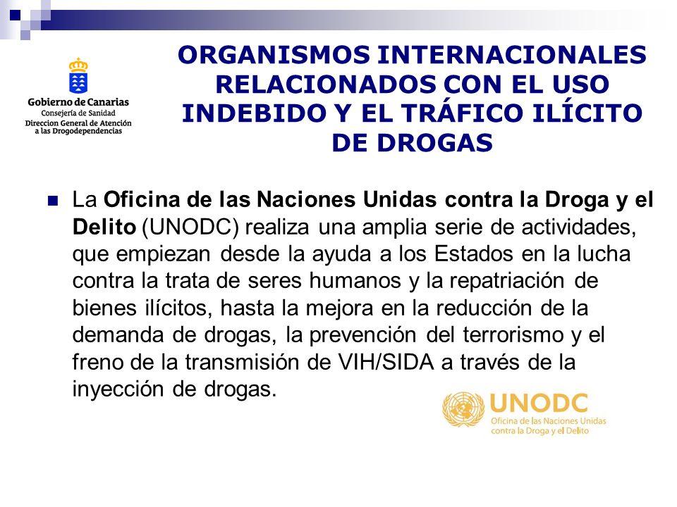 La Junta Internacional de Fiscalización de Estupefacientes (JIFE) es un órgano de fiscalización independiente y cuasi judicial, establecido por un tratado, encargado de vigilar la aplicación de los tratados de fiscalización internacional de drogas.