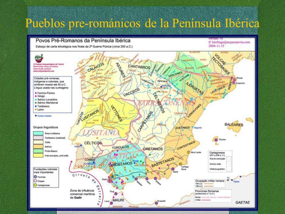Pueblos pre-románicos de la Península Ibérica