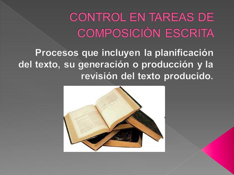 Durante el desarrollo el experto revisa el texto y lo evalúa con procesos de corrección, pone las ideas y se va clarificando el plan de contenido y organización.