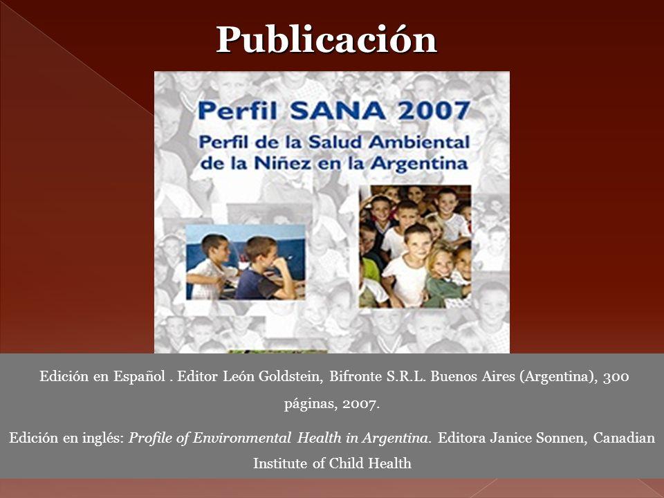 Publicación Edición en Español. Editor León Goldstein, Bifronte S.R.L. Buenos Aires (Argentina), 300 páginas, 2007. Edición en inglés: Profile of Envi